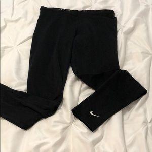 Black Nike Pro combat leggings